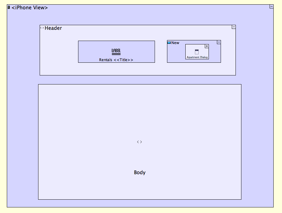 Adding Header and Dialog